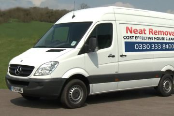 Neat Removals white van